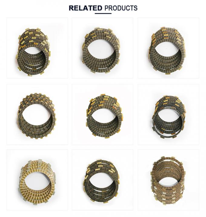 WAVE125 Motorcycle Spare Parts Aftermarket Dirt Bike Clutch Plate