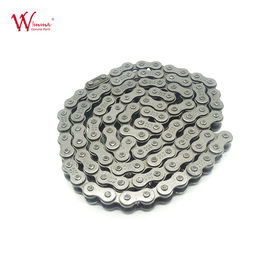 China Alloy Steel Material Motorcycle Sprocket Chain , Plated 520 Motorcycle Chain Supplier